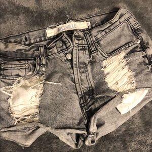 Distressed Brandy Melville Denim Shorts